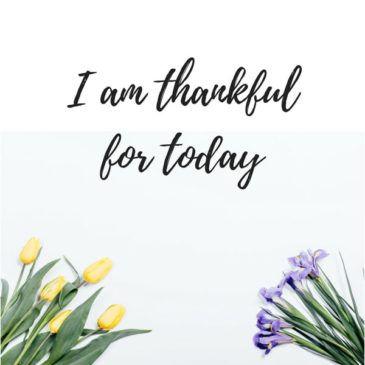 postivity and being grateful
